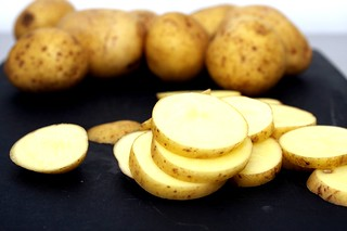 1/3-inch slices of potato