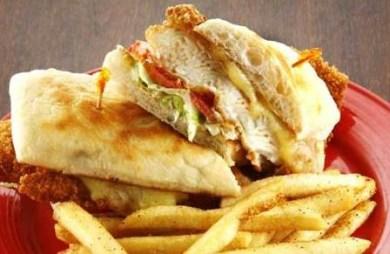 Fridays Crispy Fish Sandwich