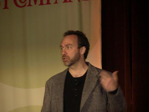 Jimmy Wales keynote speech at ad:tech San Francisco