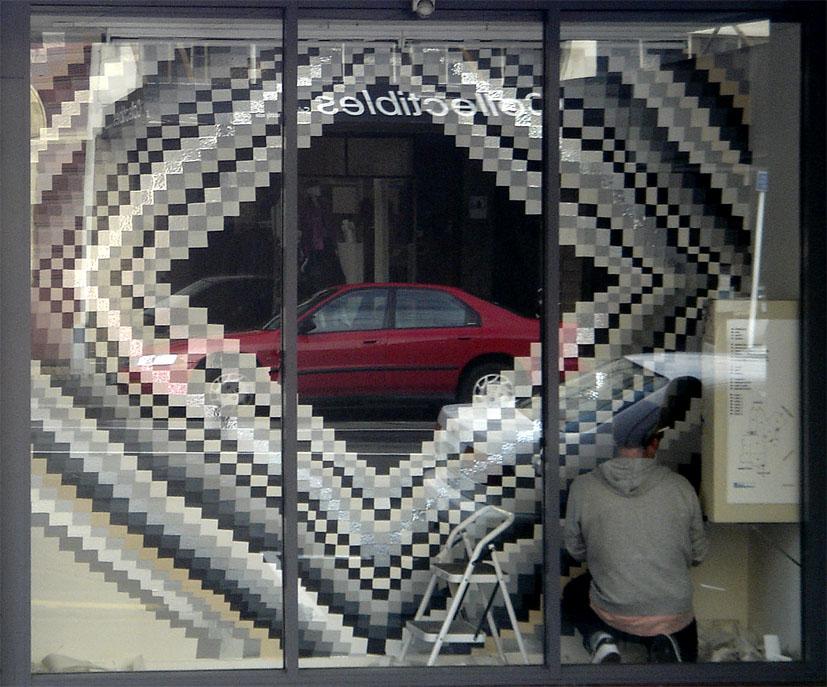 Ben Buchanan rear window