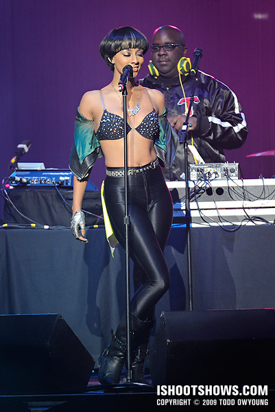 Keri Hilson @ the Chaifetz Arena -- 2009.01.08