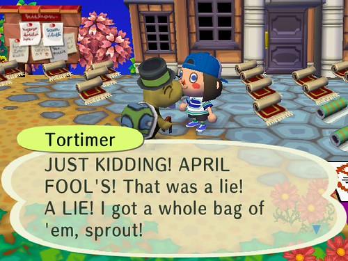 Ha ha, Tortz.