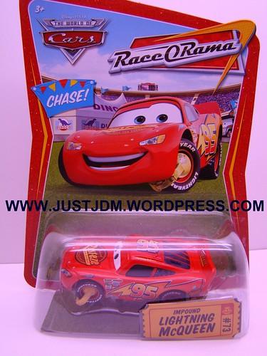 Disney CARS Impound McQueen No Confetti