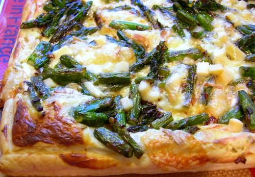 asparagus tart by you.