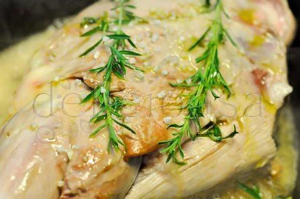 Friptura de miel cu masline si rozmarin & legume cu maioran (1 of 10)