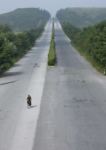 North Korea highway