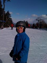 Zach at Wachusett