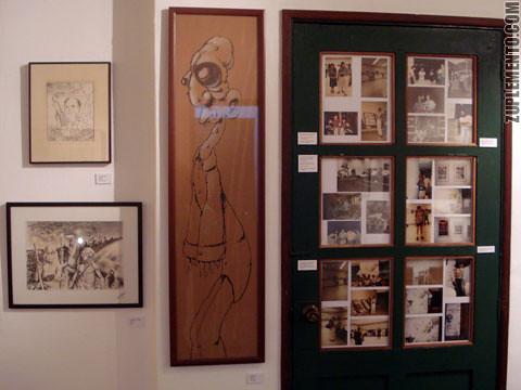 El del centro es un original de Sorg, a la derecha una colección de fotos old school muy chéveres.