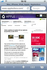 Web en el iPhone