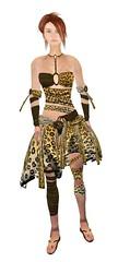 Wild Jagaur Skirt {Front}