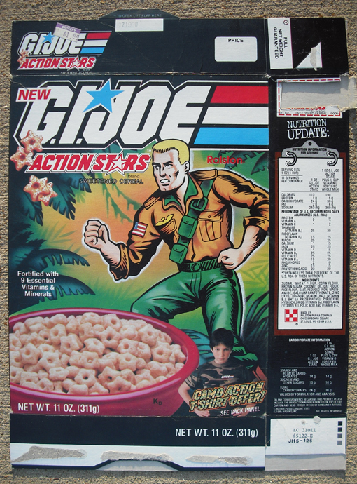 GI Joe cereal