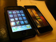 iPhone & Intel Mobile Device