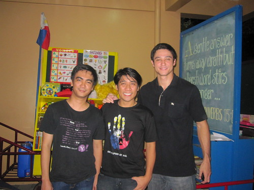 Ederic, Efren and Andrew