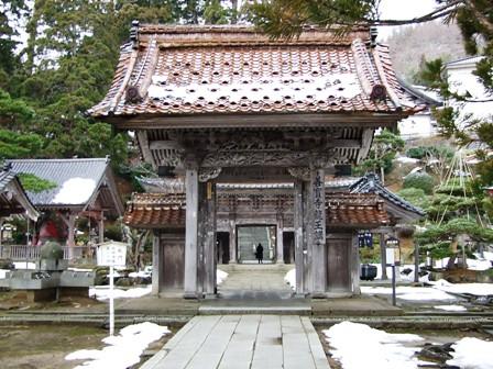 善寶寺~第一の総門