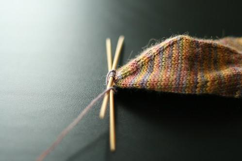 Plain Vanilla Sock pattern by Keri McKiernan