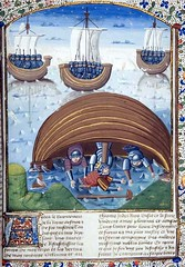 Miniature depicting Seleucus being shipwrecked