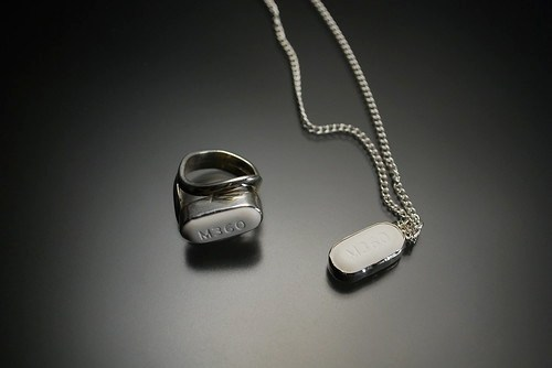 Vicodin Ring and Pendant