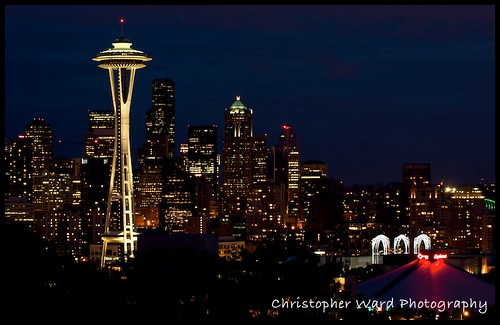 Space Needle Postcard
