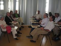 Reunião com CNL - diálogo: lado esquerdo o CNL, lado direita produtores
