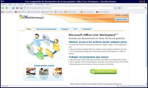 espacio gratuito de hasta 5Gb de MSN