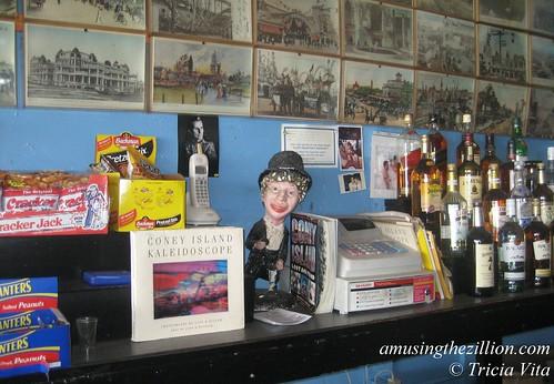 At Ruby's Bar: Harpo Marx & Coney Island: Lost and Found.  April 16, 2010. Photo © Tricia Vita/me-myself-i
