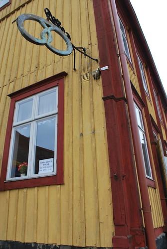 Old bakery in Åhus