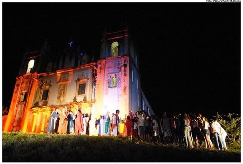 Espetáculo Cenas de Cristo em 2009. Foto: Passarinho/Pref.Olinda