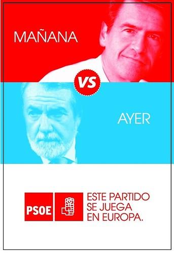 Cartel de la campaña del PSOE para el 7-J
