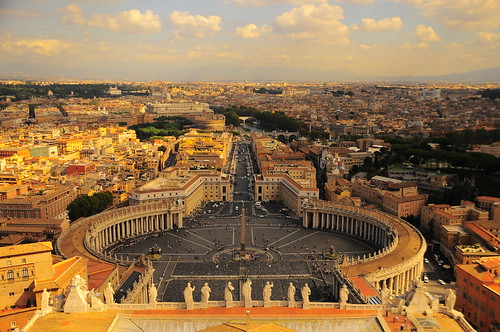 view of Vatican