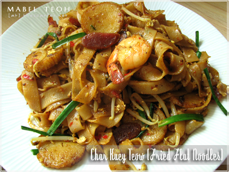 Char Kuey Teow (Fried Flat Noodles)