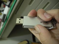 TDK USB flash drive