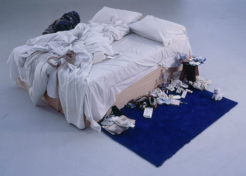 tracey emin's bed