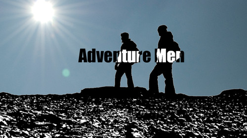 Adventure Men - Title Logo