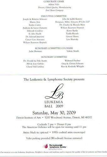 May 30, 2009 Join LLS at the Leukemia Ball! Please contact Norb Promo: Norb.Promo@lls.org