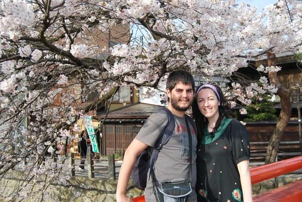 Pau i Vero en Takayama