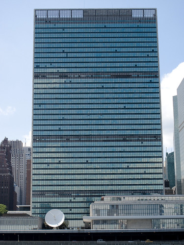 United Nations from East River by you.