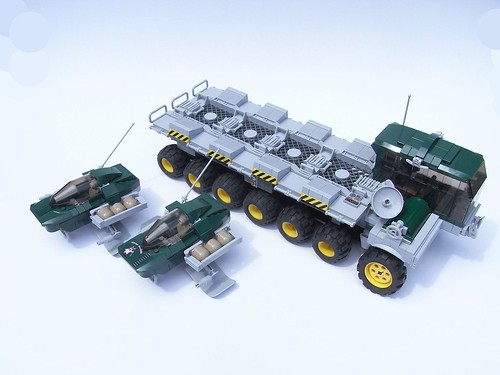 Ubix Aeroskimmer transport - deployed