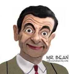 Caricature of Mr Bean!