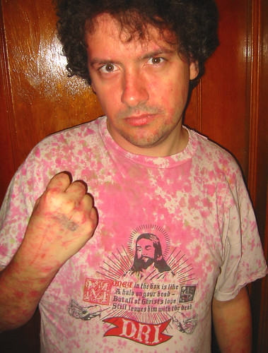20081214 - after the Gwar concert - 173-7341 - Clint - pinked shirt - please click through to leave a comment on FlickR