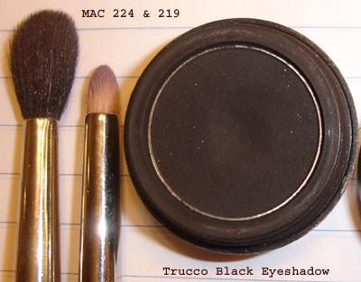 MAC 224 & 225 Brushes - Trucco Moonshade Eyeshadow