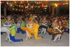 Quadrilhas de Olinda animam a festa no bairro de Ouro Preto. - Foto:Passarinho/Pref.Olinda