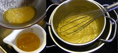 Making Hollandaise Sauce