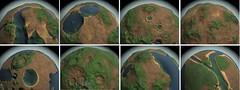 planet texturing