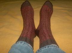 Cabletini Socks