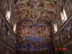 Michelangelo's The Last Judgement, Vatican City