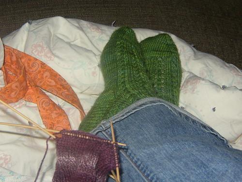 socks & socks in progress!