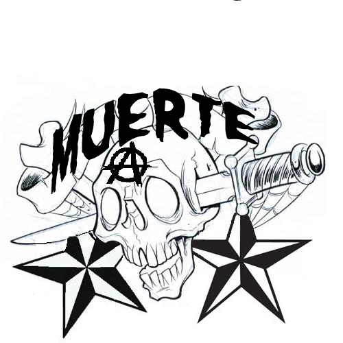 tattoo idea Misfits font rocks. The original design was a skull with a