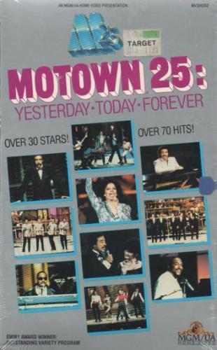 Motown 25 VHS
