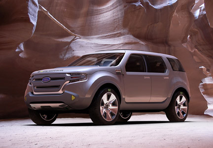 Ford Explorer America Concept at South Carolina Auto Show by scautoshow.