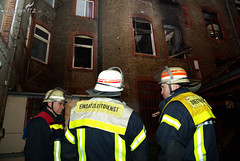 Gebäudebrand Sedanplatz 15.01.09